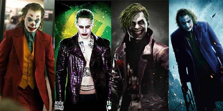 Adult The Joker Style Brown Straight Jacket Costume Kleidung